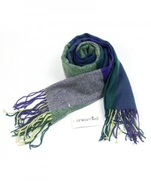 ChikaMika Fashion Scarves Spring Plaid in Cold Weather Scarves & Wraps