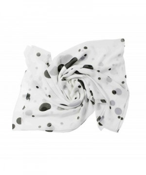 Zestilk Scarves Polka Women Lightweight in Wraps & Pashminas