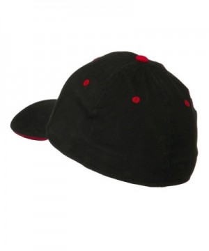 Stretchable Sandwich Bill Fitted Cap
