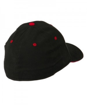 Stretchable Sandwich Bill Fitted Cap in Men's Baseball Caps