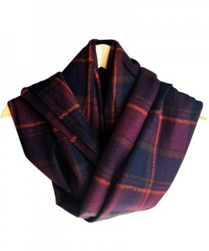 Rad Pixie Cashmere like Pashmina Plaid Purple