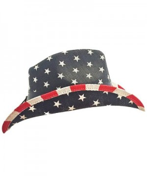 Port Classic American Flag Cowboy in Men's Cowboy Hats