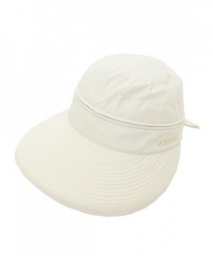 Lujuny Removable Crown Sun Hat