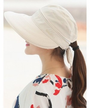 Lujuny Removable Crown Sun Hat in Women's Bucket Hats
