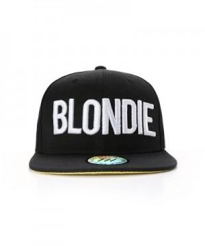 Blondie Hip Hop Snapback Baseball