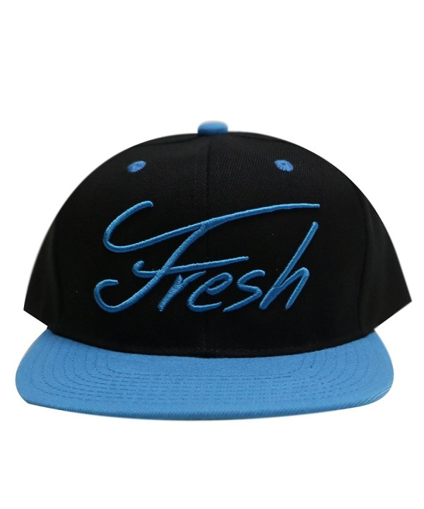 City Hunter Cf918t Fresh Summer Snapback Hats - 11 Colors - Black/turquoise - C111YREW3BL