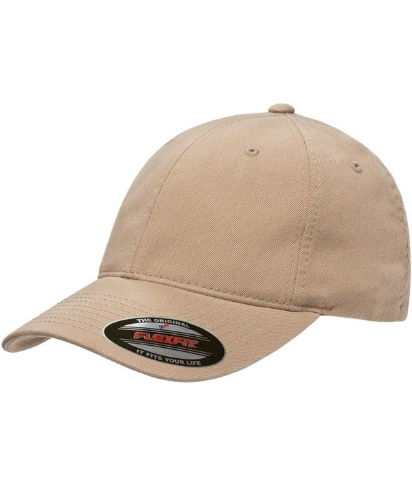 Flexfit Garment-Washed Twill Cap (6997) - Khaki - CH11LVC5H7J
