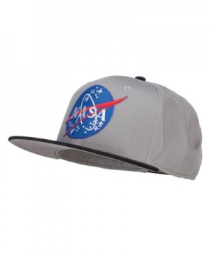 E4hats Lunar NASA Patched Snapback