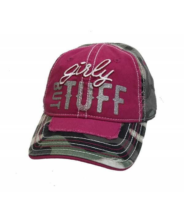 Farm Boy Farm Girl Mens Girly But Tuff Cap M/L Pink - CY185RSGQIS