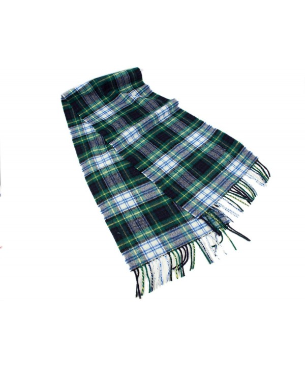 "Irish Scarf Lambswool 63"" X 12"" Made in Ireland - Dress Gordon Tartan - CE1289LU92H"