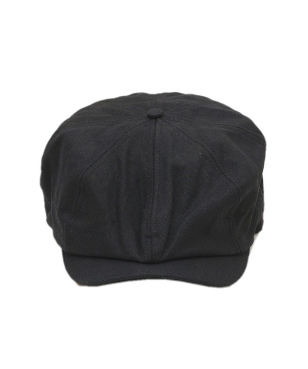 Pierre LaMarreDS Unisex Retro Newsboy Cap Golf Solid Color Driving Hat - CB12N43YDOG