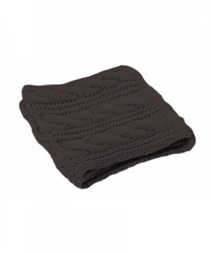 American Knitted Winter Infinity Gaiters