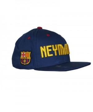 Fc Barcelona Snapback Messi 10 Neymar Jr 11 Cap Hat Adults - navy Neymar - CC12KO3B9ZT
