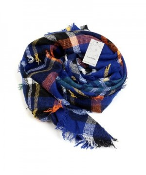 Womens Tartan Scarf Checked Pashmina in Wraps & Pashminas
