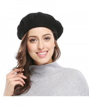 Women Solid Color French Beret