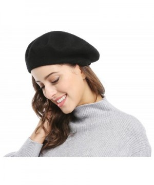 Women Solid Color French Beret in Women's Berets