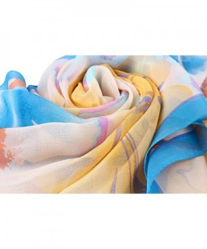 Ayli Womens Flower Mulberry Scarf in Fashion Scarves