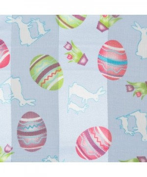 Pastel Easter Scarf Bunnies Flowers in Fashion Scarves
