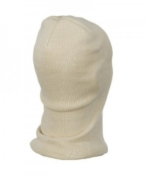 Cotton One Hole Face Mask in Men's Balaclavas