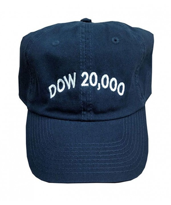 NYSE The Official Dow 20-000 Hat - C512O48R1YV
