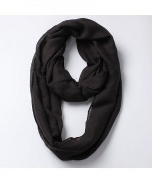 Solid Color Infinity Lightweight Women in Fashion Scarves