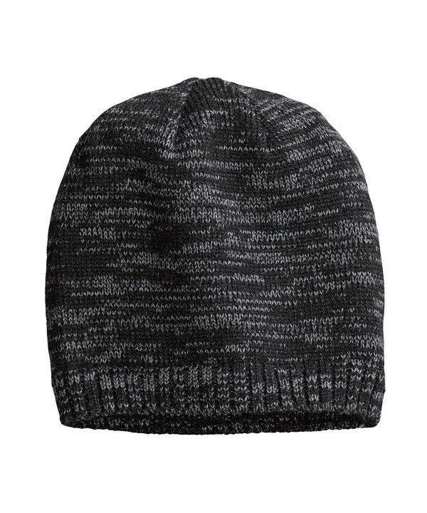 District Women's Spaced-Dyed Beanie- Black/Charcoal - CD11G66LQ2Z