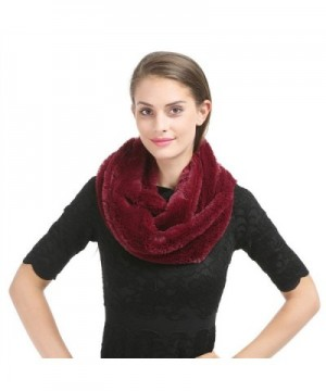 Saferin Womens Infinity Shoulder SSH Burgundy in Cold Weather Scarves & Wraps