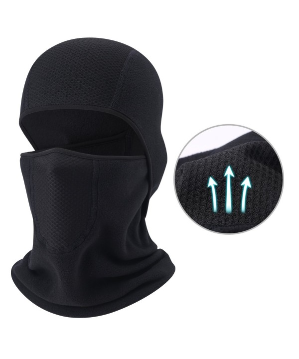 Balaclava - Windproof Mask Adjustable Face Head Warmer for Skiing- Cycling- Motorcycle Outdoor Sports - Thicker - C3185K0NLM0