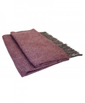 Vera Womens Oversized Cashmere Burgundy in Fashion Scarves