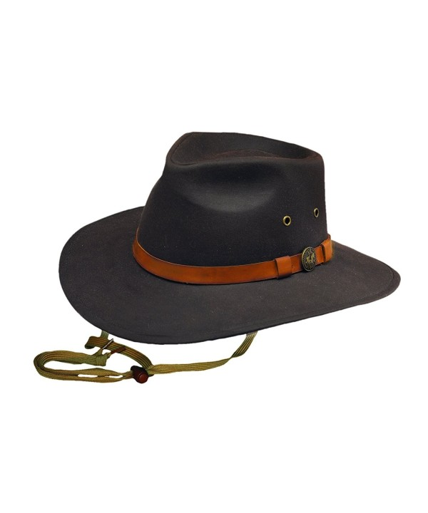 Outback Trading Kodiak Hat - Brown - CN1156IYRLB