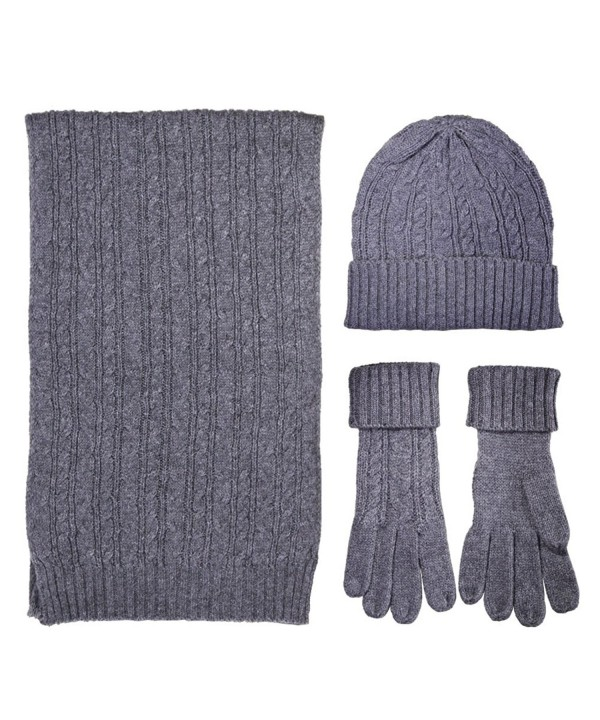 Gloves Beanie Unisex Weather famlies - Gray - C5189UW29S4