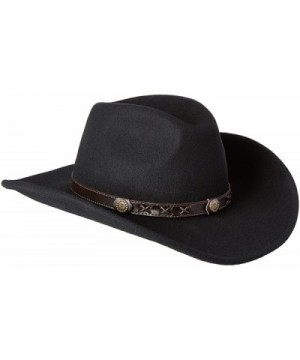 Twister Men's Crushable Dakota Hat - Black - CT1184XHB1N