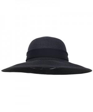 Simplicity Womens Summer Beach 280_Black in Women's Sun Hats