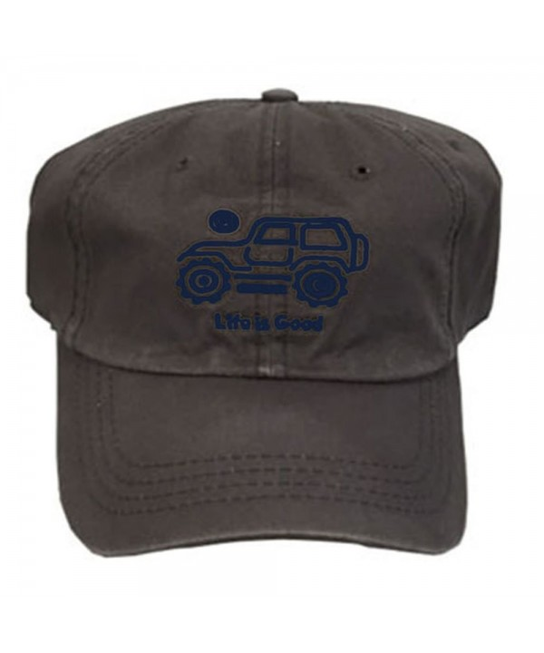Life is Good. Chill Cap: Native Off Road - Slate Gray - CJ182EQ346G