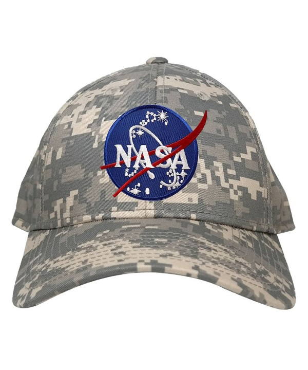 Low Profile NASA Insignia Logo Patch Camo Cap - Acu - C812IQ5JANT
