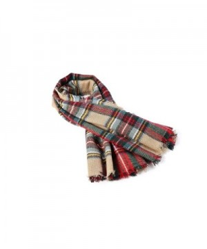 Absolutely Perfect Checked Autumn Blanket in Cold Weather Scarves & Wraps