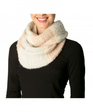 Apparelism Women's Premium Winter Super Soft Fuzzy Knitted Infinity Loop Neck Scarf. - Mint - CJ186IRLGLW