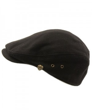 Front Solid Driving Cabby Hat