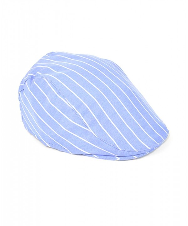 Blue Striped Old English Ivy Hat - CQ11LNDEAMD