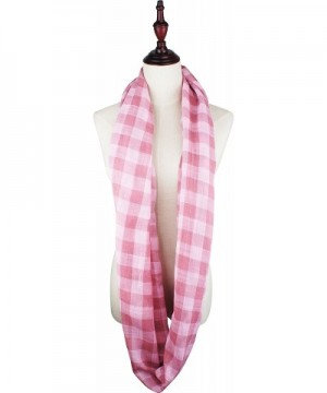 VIVIAN VINCENT Weight Tartan Infinity in Fashion Scarves