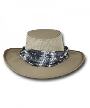 Barmah Hats Ladies Canvas Drover in Women's Sun Hats