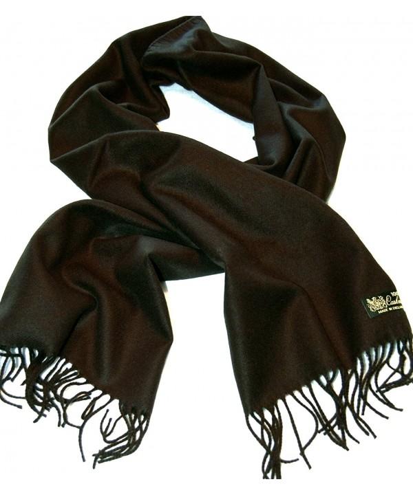 100%Cashmere Scarf--80 Rich Colors! Super Soft - Black - CR111JCU9KL