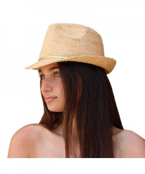 Palms Sand Melrose Fedora Natural