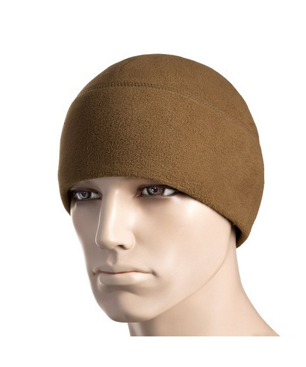 Winter Hat Windproof Fleece 295 Mens Military Watch Skull Cap Tactical Beanie - Dark Coyote - C2187RDL4EY