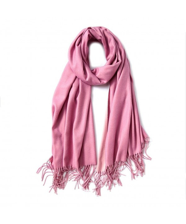 Winter Women Fashion Shawl Cashmere Feel Scarf 2 Tone Large Long Scarves - 010 - CP186KEUT75