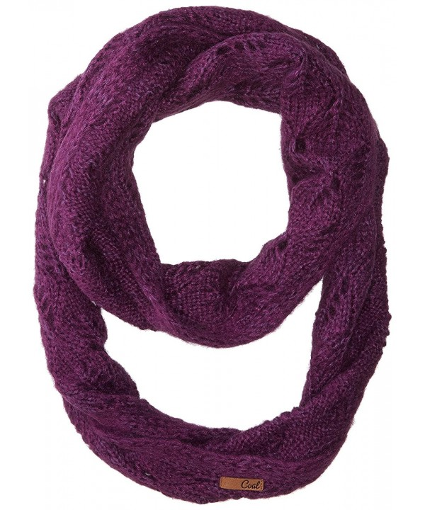 Coal Men's The Madison Eternity Scarf - Plum - C312OBO6KW3