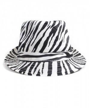 Exotic Animal Pattern Fedora Hat