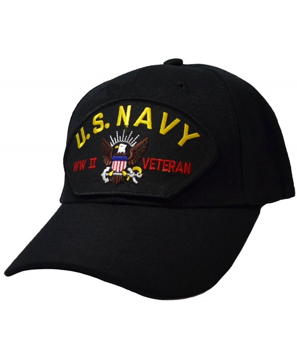 US Navy World War II Veteran Cap - CV12717BU3H