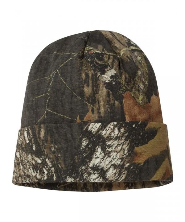 "Joe's USA Real Tree- Oilfield- Mossy Oak Camo Knit 12"" Hunting Beanies - Realtree All Purpose - C211XJLVXUP"