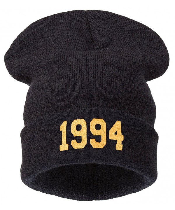 4sold Winter Black 1994 Beanie Hat and Snapback Men and Women Winter Cap - 1994 Black Gold - C511HOJ0TCV
